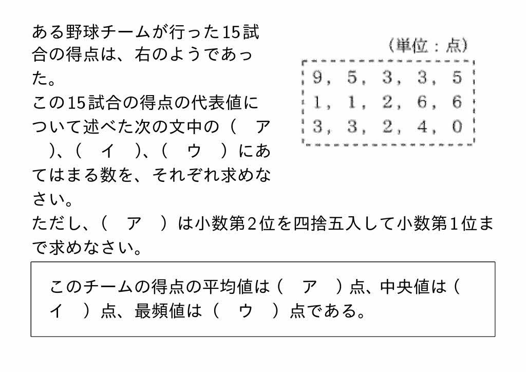 2016年愛知県Aグループ公立高校入試第2問(2)